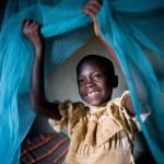 Protéger un enfant de la malaria durant son sommeil. Chaque minute, un enfant décède de la malaria dans le monde. Votre cadeau : deux moustiquaires pour le lit imprégnées d'insecticide. Votre impact : vous protégez deux enfants, pendant leur sommeil, des moustiques porteurs de la maladie, et ce pendant au moins cinq ans.