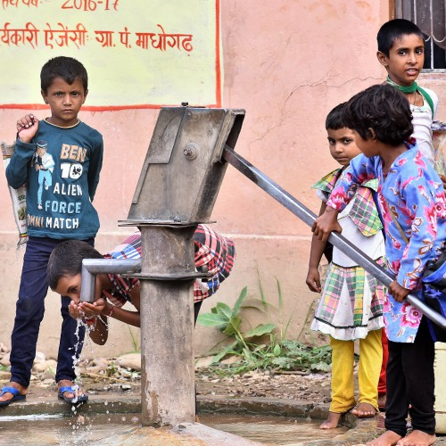 Change the future of an entire community with a water pump