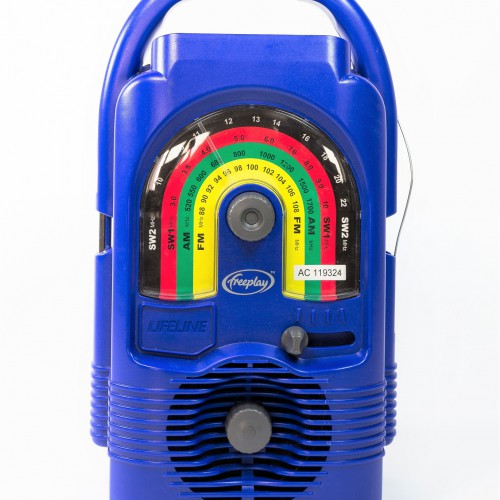 Provide this portable radio and support a wide range of educational programmes